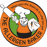 The Allergen Baker Logo
